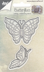 Joy Crafts - Cutting & Embossing Die - Butterflies