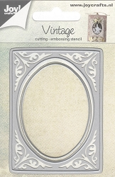 Joy Crafts - Cutting & Embossing Die - Vintage Oval