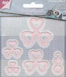 Joy Crafts - Cutting Die - Flowers Heart