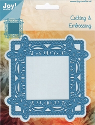 Joy Crafts - Cutting & Embossing Die - Butterflies In The Corner Frame