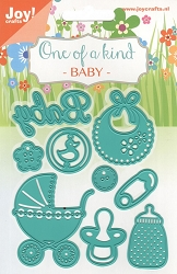 Joy Crafts - Cutting & Embossing Die - One of a Kind Baby