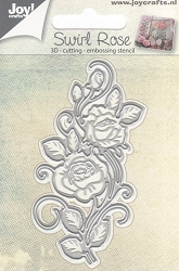 Joy Crafts - Cutting & Embossing Die - 3D Rose Swirl