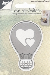 Joy Crafts - Cutting & Embossing Die - Love Air-Balloon