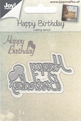 Joy Crafts - Cutting Die - Happy Birthday