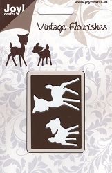 Joy Crafts - Cutting Die - Vintage Flourishes Deer