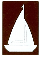 Joy Crafts - Noor Cutting & Embossing Die - Vintage Flourishes Sailboat