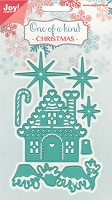 Joy Crafts - Cutting & Embossing Die - One of A Kind Christmas Gingerbread House