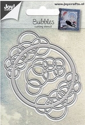 Joy Crafts - Cutting Die - Bubbles Circle and Corner