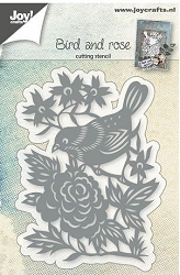 Joy Crafts - Cutting Die - Bird and Rose