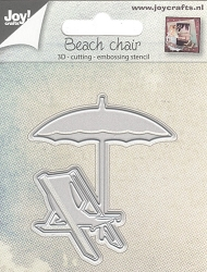 Joy Crafts - Cutting & Embossing Die - 3D Beach Chair