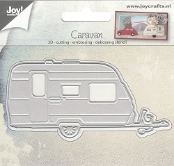 Joy Crafts - Cutting & Embossing Die - 3D Caravan