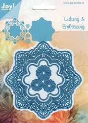 Joy Crafts - Cutting & Embossing Die - Noor Fantastic Circle