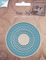 Joy Crafts - Cutting Die - Basic Joy! Circles with Holes