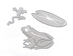 Joy Crafts - Cutting & Embossing Die - Frogs and Waterlily