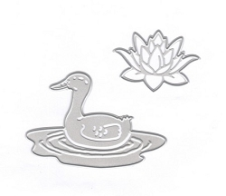 Joy Crafts - Cutting & Embossing Die - Duck and Waterlily