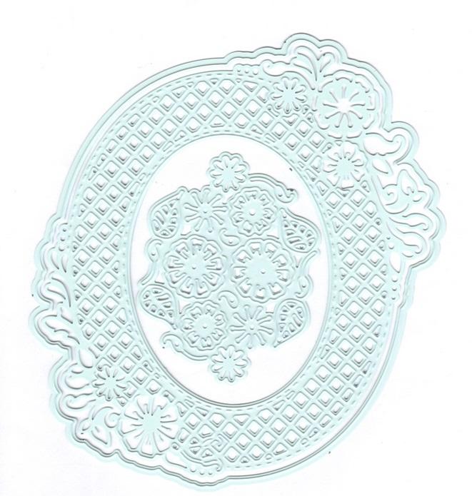 Joy crafts cutting embossing die no end flower oval for Joy craft flower dies