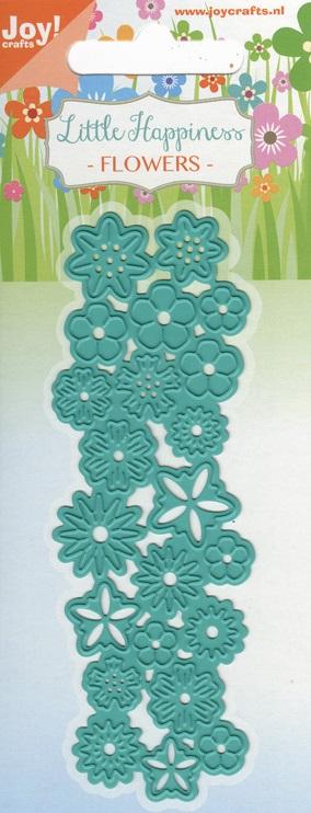 Joy crafts cutting embossing die little happiness for Joy craft flower dies