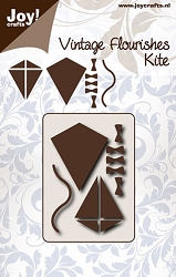 Joy Crafts - Cutting Die - Vintage Flourishes Kite