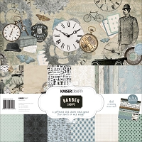 KaiserCraft - Barber Shoppe Collection - Paper Pack