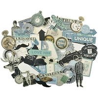 KaiserCraft - Barber Shoppe Collection - Collectables Die Cuts