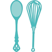 KaiserCraft - Decorative Dies - Kitchen Utensils