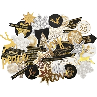 KaiserCraft - Glisten Collection - Collectables Die Cuts (foiled