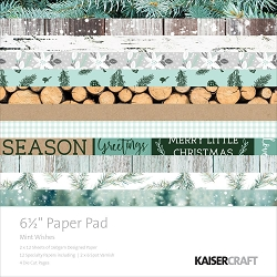 KaiserCraft - Mint Wishes Collection - 6.5