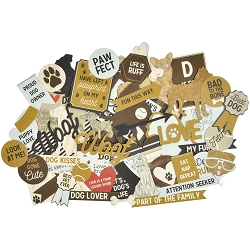 KaiserCraft - Pawfect Collection - Dog Collectables Die Cuts