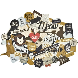 KaiserCraft - Pawfect Collection - Cat Collectables Die Cuts