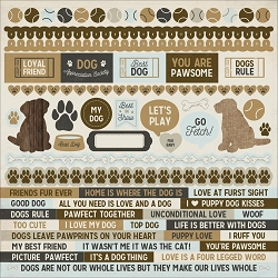 KaiserCraft - Pawfect Collection - Dog 12
