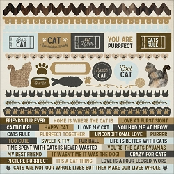 KaiserCraft - Pawfect Collection - Cat 12