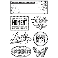 KaiserCraft - All That Glitters Collection - Clear Stamp