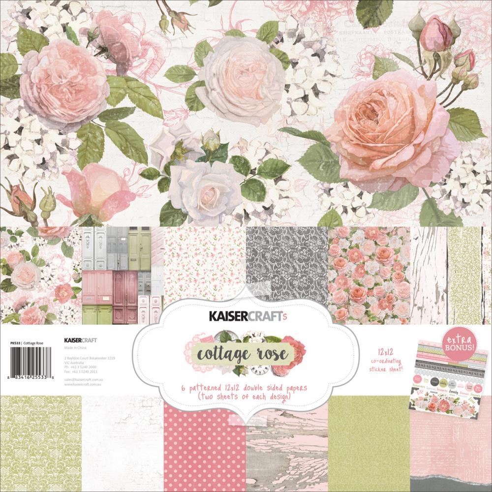 KaiserCraft - Cottage Rose Collection