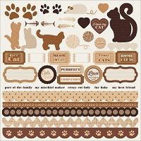 KaiserCraft - Furry Friends Collection (dog and cat)