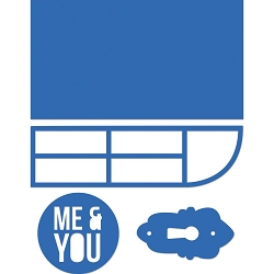 KaiserCraft - Decorative Dies - Me & You