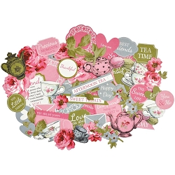 KaiserCraft - High Tea Collection - Collectables Die Cuts