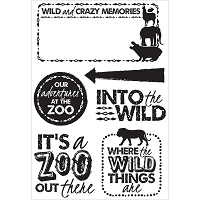 KaiserCraft - Into The Wild Collection - Clear Stamp (6