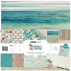 KaiserCraft - Island Escape Collection - Paper Pack