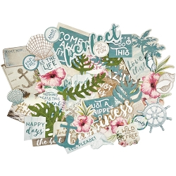 KaiserCraft - Island Escape Collection - Collectables Die Cuts
