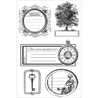 Kaiser - Heirloom Collection - Clear Stamps
