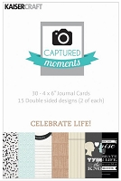 KaiserCraft - new Captured Moments journal cards