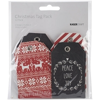 Kaiser - Mix & Match Tag Packs - Christmas North Pole