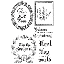 KaiserCraft - Letters to Santa Collection - Clear Stamp
