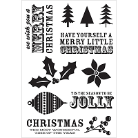 Kaiser - Mistletoe Collection - Clear Stamp