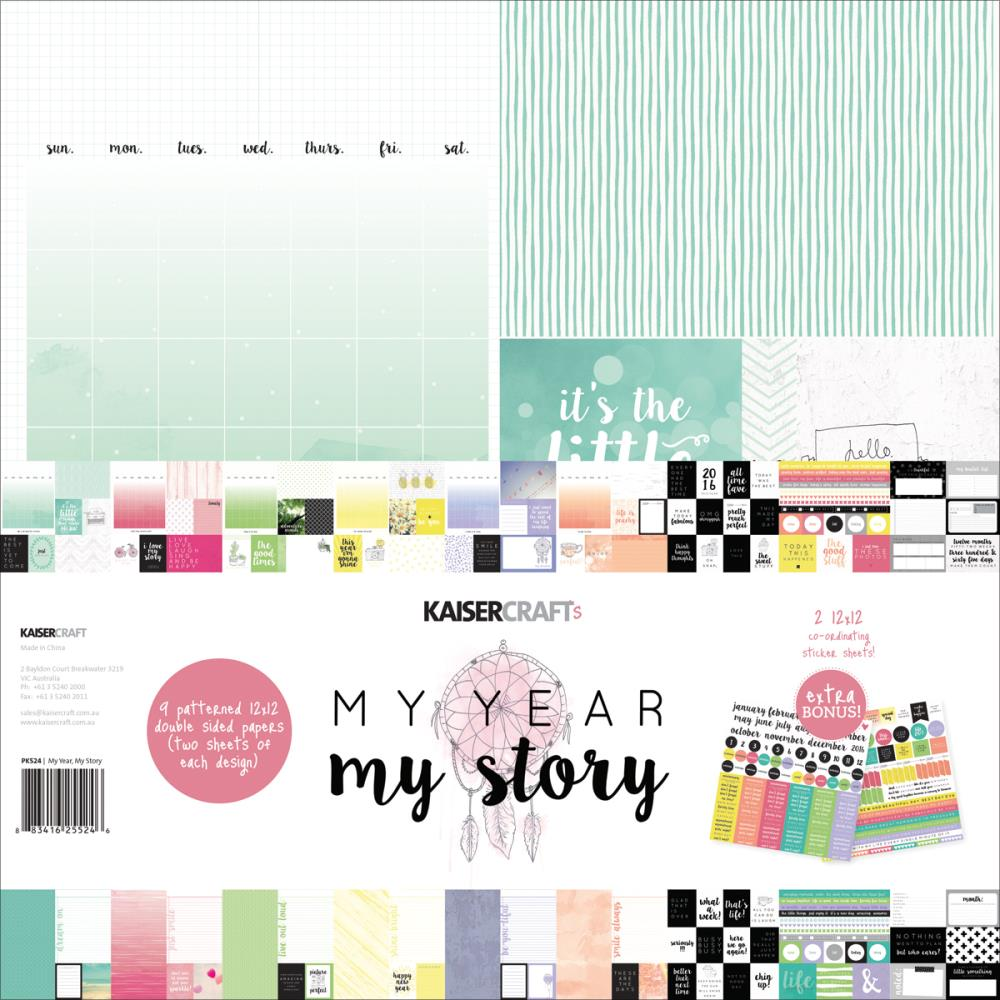 KaiserCraft - My Year My Story Collection