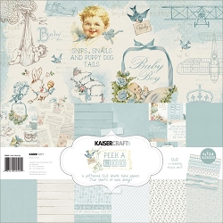 KaiserCraft - Peek-A-Boo Collection - Boy Paper Pack