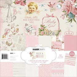 KaiserCraft - Peek-A-Boo Collection - Girl Paper Pack