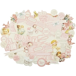 KaiserCraft - Peek-A-Boo Collection - Girl Collectables Die Cuts
