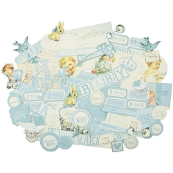 KaiserCraft - Peek-A-Boo Collection - Boy Collectables Die Cuts