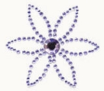 Kaiser-Rhinestone Picture-Petal-Lilac